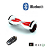 8 inch Bluetooth Speaker Self Balance Standing Moped Smart 2 Wheels Electric Scooter