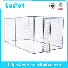 Custom logo high quality large wholesale outdoor chain link 6ft dog kennel cage