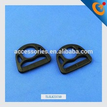 top quality safety harness buckle stainless steel plastic d ring webbing strap with side release buckle