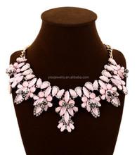 elegant rhinestone bow choker necklace