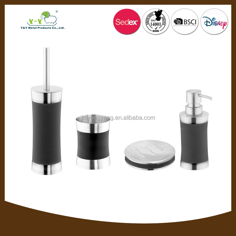 Stainless steel simply hotel luxury bathroom accessories for Simply bathrooms