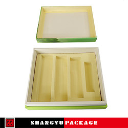 new type shipping cosmetic box false hair packaging box