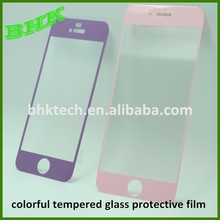 HD supershieldz colorful tempered glass protective film ,9H tempered glass screen protector