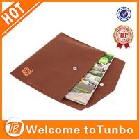 Customized felt material laptop sleeve bag tablet case
