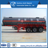 50000L 3 axis chemical liquid transport semi trailer truck