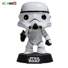 Resin Star War stormtrooper bobble head bobble head doll head-shaking Doll