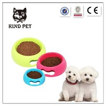 pet feeding products premium cheap plastic dog bowl