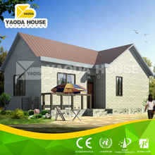 Feel like living in nature low cost prefab house
