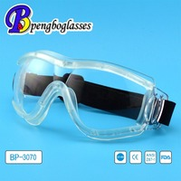 Promotional UV400 scratch resistant industrial safety glasses