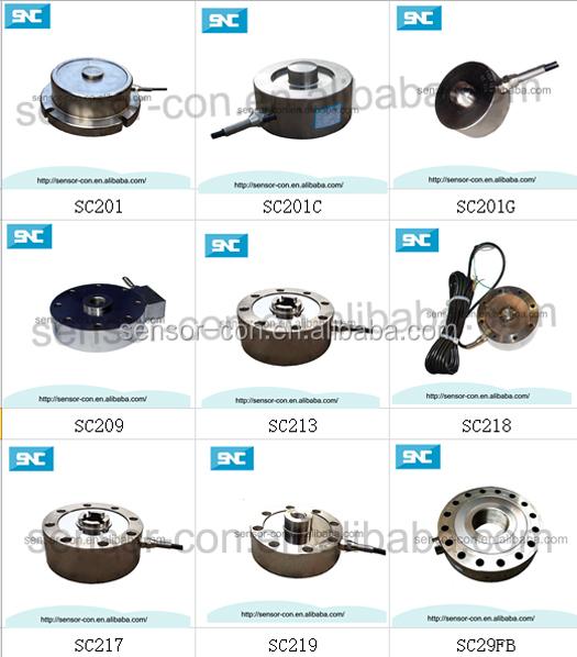ロードセルsc201gclパンケーキ2t重量センサーボタン、 3t、 5t車両荷重センサー センサー 製品id