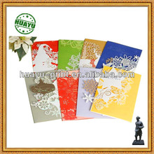 colorful Christmas cards printing/customized greeting cards prining factory in Foshan