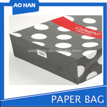 Cosmetics Gift Package Bag Reusable Folding Recycled Paper Shopping Bags