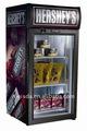 Chocolate refrigerador, mostrador refrigerador de bebidas