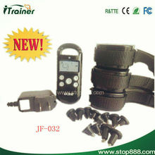 Best price rechargeable remote pet training collar 032 pet puppy training pad