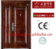 new design steel door single leaf door security steel door