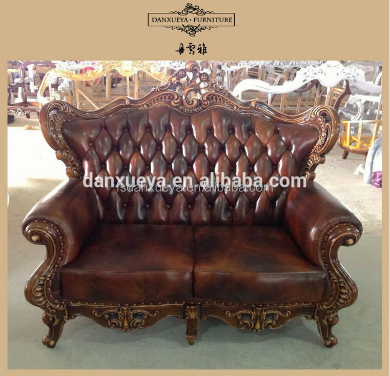 leather sofa hotel furniture set antique round sofa classic sofa