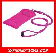 mobile phone sock with lanyard/lanyards with cell phone pouch