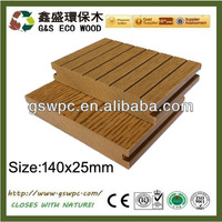 Wood Plastic Composite/ WPC Decking Board/price wpc
