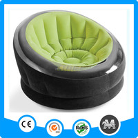Newest and hottest single luxury round intex inflatable chesterfield sofa in bedroom furniture