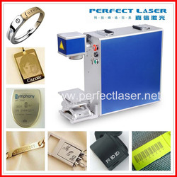 Name Cards & PVC Dog Tags Engraving Machine/Fiber Lazer Marker