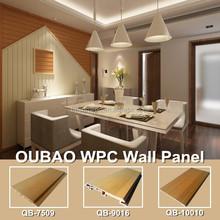 2015 new eco friendly materials WPC wall board wood plastic composite slats
