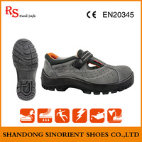 Good quality suede leather steel toe cap liberty industrial safety shoes Dubai Electrical hazard safety shoes producer SNS739