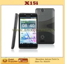 """(X15i) 4.3"""" Unlocked Android Smart Mobile Phone MTK6573 3G Dual Core Dual SIM Cell Phone with GPS WIFI TV"""