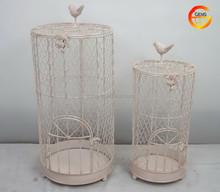 Hot sale round metal bird cage
