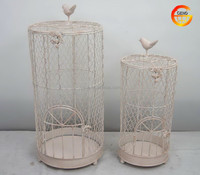 Hot selling round metal bird cage