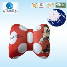 Alibaba in china hot selling bone shape cushion with microbeads ,comfortable and soft