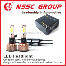 Mini Build-in-fan LED Headlight High Power LED Headlight Conversion 12V 24w H1 Bulb