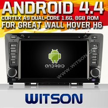 WITSON ANDROID 4.4 AUTO CAR DVD GPS NAVIGATION FOR GREAT WALL H6 WITH CAPACTIVE SCREEN BLUETOOTH RDS 3G WIFI