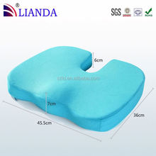 Helps to reduce pressure on the coccyx and hip bones orthopedic seat cushion