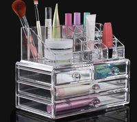 New Transparent Cosmetic Organizers Acrylic Makeup Tidy Box