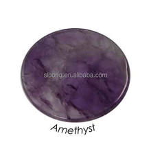 Beautiful Amethyst Coin Pendant Jewel one Jewellery