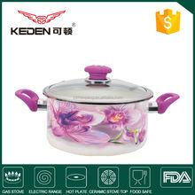 2014 popular enamel casserole & cookware & stock pot 3-5L