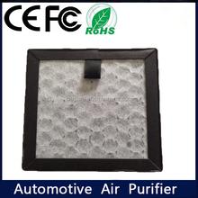 Negative ion 3 million pcs/cm3 auto car smoke eliminator with activated carbon filters