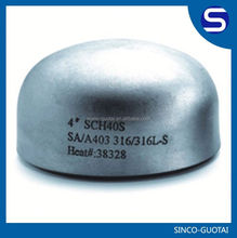 steel dome end caps