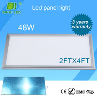 Hot Sales dimming 60w 2x4 led ceiling panel lighting