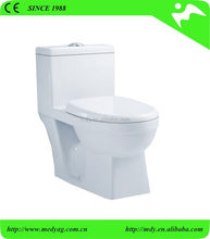 Ceramic Sanitary ware single piece wc toilets China supplier one piece toilet bathroom design sanitary ware ceramic