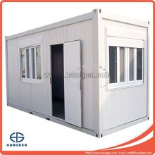 20FT EPS/PU/XPS/Rockwool Sandwich Panel Container House