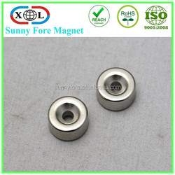 powerful countersunk neodymium ring magnets