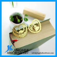 Special Designed Metal Plated Gold Heart Ornaments