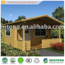 2015 Latest Design Prefab Wooden House