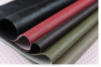 lichee patern embossed pvc leather for bag/furniture