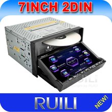 7 inch Universal 2 din Car DVD With Bluetooth RDS GPS TV IPOD