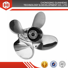 High precision cast carbon steel casting 4 Blades marine propeller