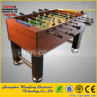 WD-ST001Coin Operated indoor table wooden mini soccer football game