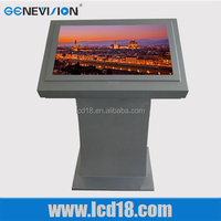 Hot ! Classic design with 1080P full hd interactive digital all in one pc touch screen kiosk