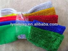 colorful dish sponge cloth/dish scouring pad material